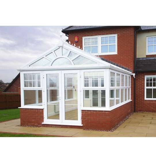 China WDMA Utilitarian Free Standing Sun Rooms Green House Garden With Furniture Grey Color