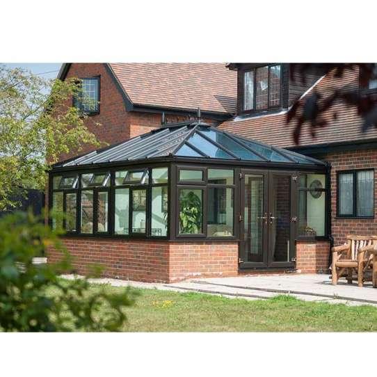 WDMA Victorian Prefabricated Aluminum Glass Sunroom Conservatory House