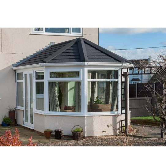 WDMA Villa Solarium Sun Room With Aluminum Frame Glass Door Simple Design