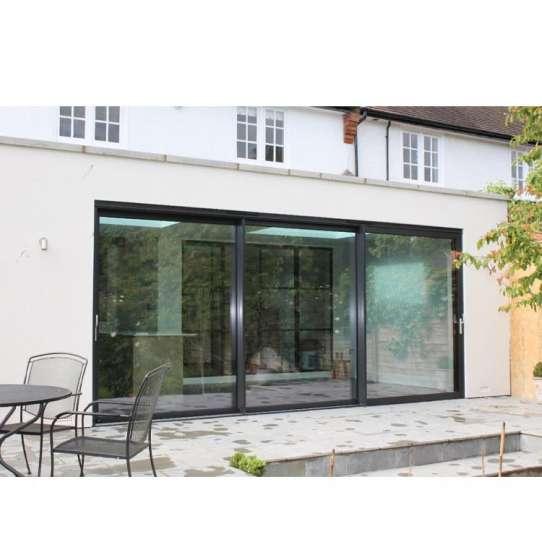 WDMA veranda aluminium sliding door grill design Aluminum Sliding Doors