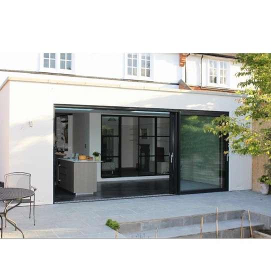 China WDMA Villa Watertight Waterproof Exterior Outdoor Smart Lock Veranda Entry Aluminium Sliding Door With Grill Design Price