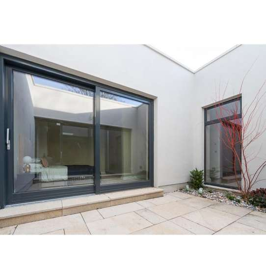 China WDMA veranda aluminium sliding door grill design Aluminum Sliding Doors