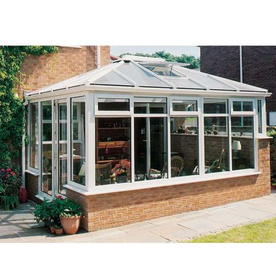 China WDMA glass garden house Aluminum Sunroom