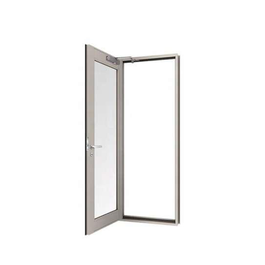 WDMA Wholesale Chinese 48 Inches Aluminium Main Men Door Design Gate Exterior Entry Door Design