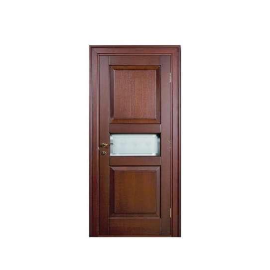 China WDMA Wholesale Price China New Design Wooden Doors Men Door