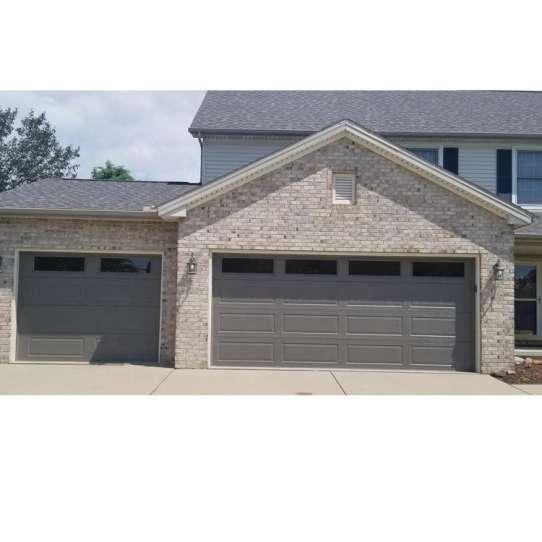 WDMA Wholesale Residential Use Automatic Galvanized Steel Garage Door Sectional Garage Door