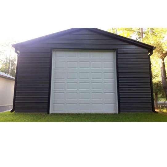 China WDMA Wholesale Residential Use Automatic Galvanized Steel Garage Door Sectional Garage Door