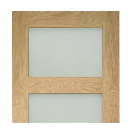 China WDMA Wood Glass Swing Door Hinge Door Design