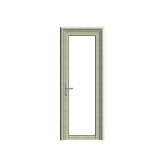 China WDMA Wooden frame hinged doors Aluminum Hinged Doors