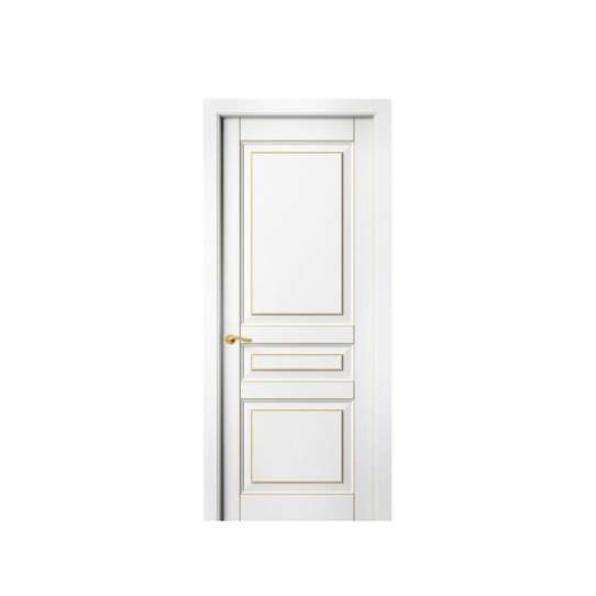 WDMA Wooden Laminated Door Panel For Main Entrance