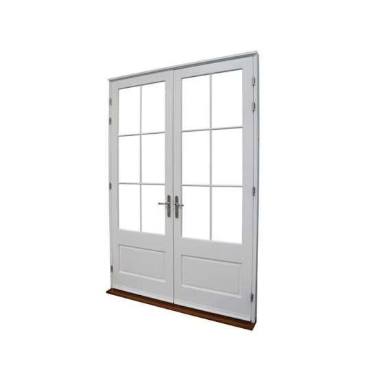 China WDMA Wooden Laminated Door Panel For Main Entrance