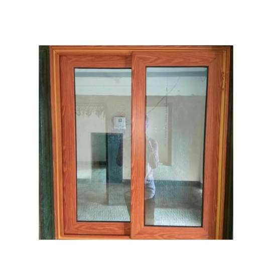 China WDMA wooden sliding window grill design